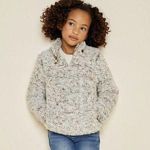 Girls Long Sleeve Fleece Pullover Sweater